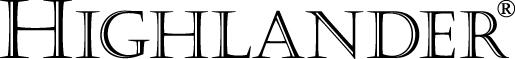 말라키 이중그림자 슁글 하이랜더 로고