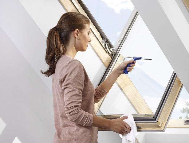 벨룩스 지붕창 GGL 청소방법