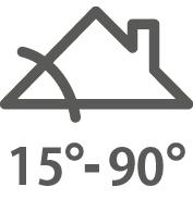 벨룩스 지붕창 GGL 시공 가능한 각도