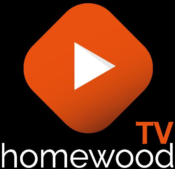 홈우드TV 로고 homewood TV